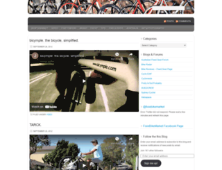 fixiebikemarket.wordpress.com screenshot
