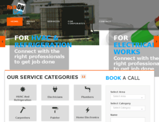 fixitoncall.com screenshot