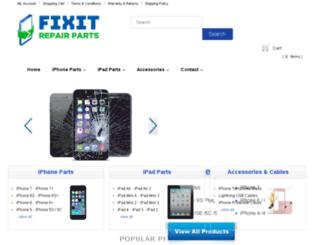 fixitrepairparts.com screenshot