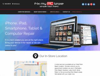 fixmypcstore.com screenshot