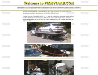 fixmysaab.com screenshot