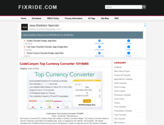 fixride.com screenshot