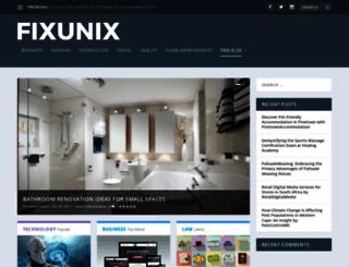fixunix.com screenshot