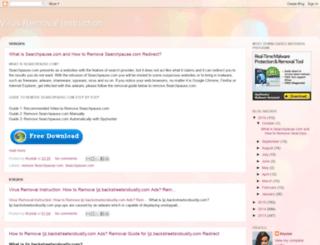 fixvirusfast.blogspot.in screenshot