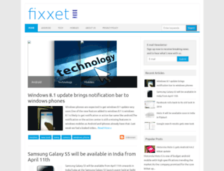fixxet.blogspot.com screenshot