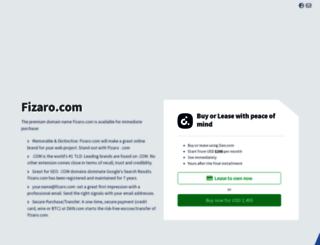 fizaro.com screenshot