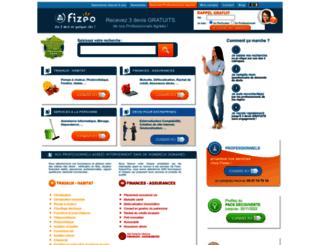 fizeo.com screenshot