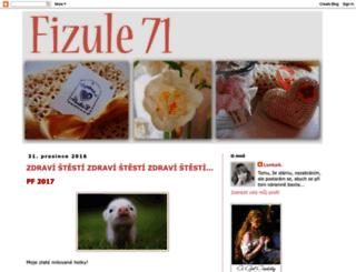 fizule71.blogspot.sk screenshot