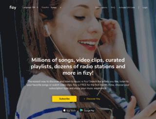 fizy.org screenshot