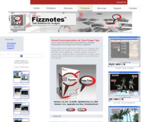 fizznotes.com screenshot