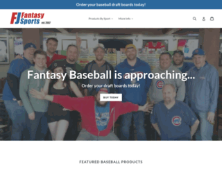 fjfantasy.com screenshot