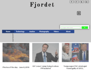 fjordet.com screenshot