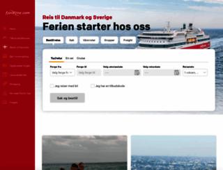 fjordline.no screenshot