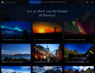 fjordtravel.no screenshot