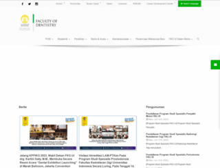 fkg.ui.ac.id screenshot
