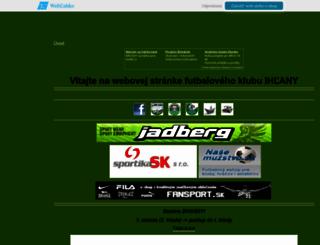 fkihlany.wbl.sk screenshot