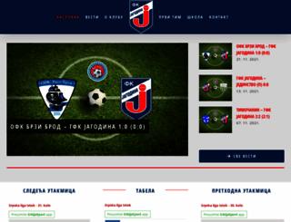 fkjagodina.org.rs screenshot
