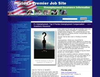 fl-unemployment-office.com screenshot