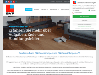 flaechenheizung.de screenshot