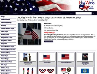 flag-works.com screenshot