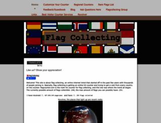 flagcollecting.jimdo.com screenshot