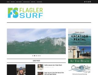 flaglersurf.com screenshot