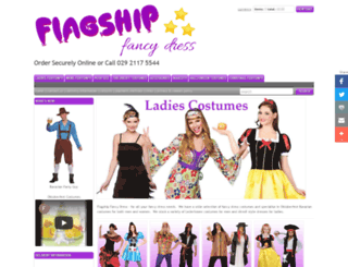 flagshipfancydress.co.uk screenshot