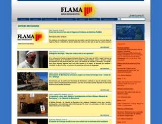 flama.info screenshot
