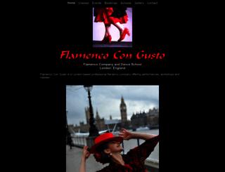flamencocongusto.co.uk screenshot