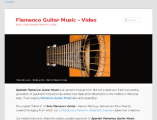 flamencoguitar-video.howtosurviveafteranaffair.com screenshot