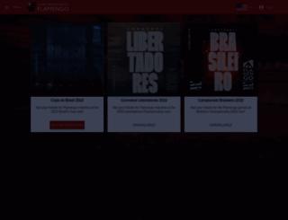 flamengo.superingresso.com.br screenshot