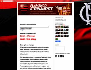 flamengoeternamente.blogspot.com screenshot