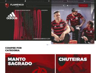 flamengoloja.com.br screenshot