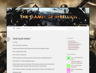 flamesofrebellion.wordpress.com screenshot