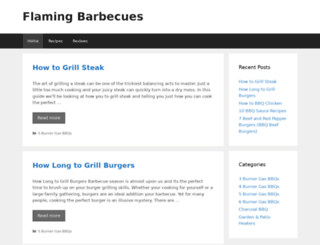 flamingbarbecues.co.uk screenshot