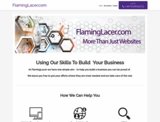flaminglacer.com screenshot
