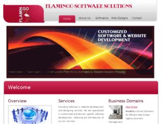 flamingo-softwares.com screenshot