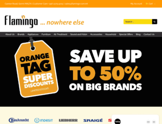 flamingo.com.mt screenshot