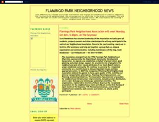 flamingomb.blogspot.com screenshot