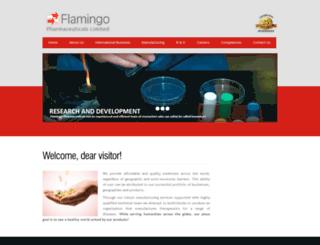 flamingopharma.com screenshot