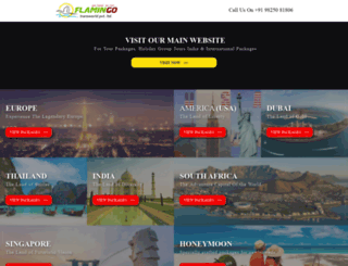 flamingotransworld.co.in screenshot