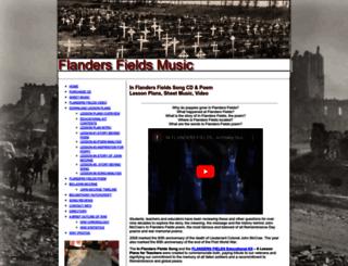 flandersfieldsmusic.com screenshot