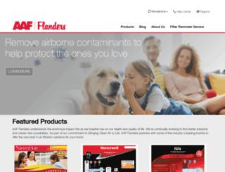 flandersfilters.com screenshot