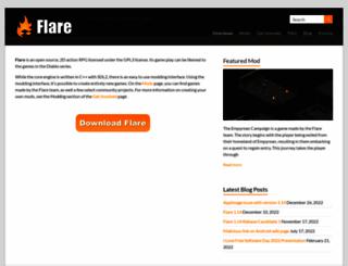 flarerpg.org screenshot
