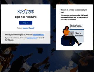 flash-at-work.kent.edu screenshot