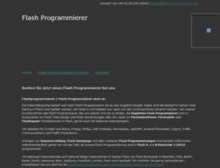 flash-programmierer.com screenshot