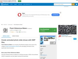 flash-slideshow-maker.en.softonic.com screenshot