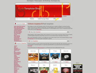 flash-template-shop.com screenshot