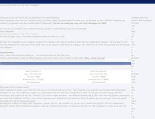 flash-templates-today.com screenshot