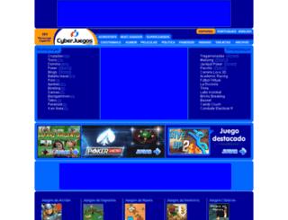 flash.cyberjuegos.com screenshot